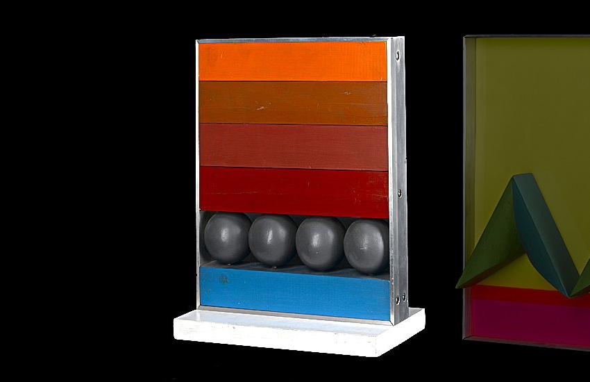 Grey Balls, 1966 by Michael Stokoe