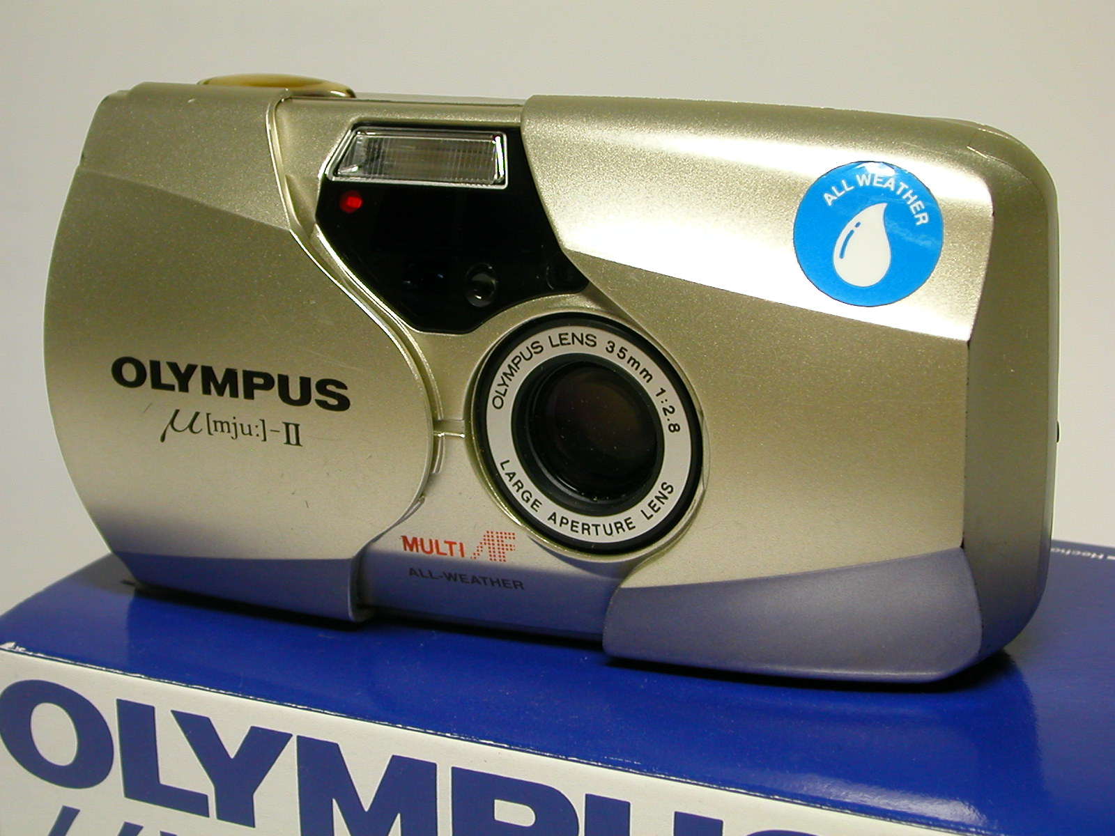 Olympus Mju II - The first camera owned by the photographer Steve Chong.