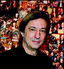 Vladimir Gorsky's painting of Paul McCartney 8