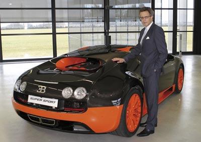 Wolfgang Dürheimer is the new head of Bugatti 11