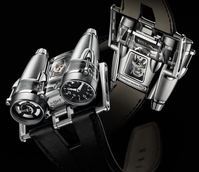MB&F HM4 Thunderbolt wrist watch - Horological Machine No4 3