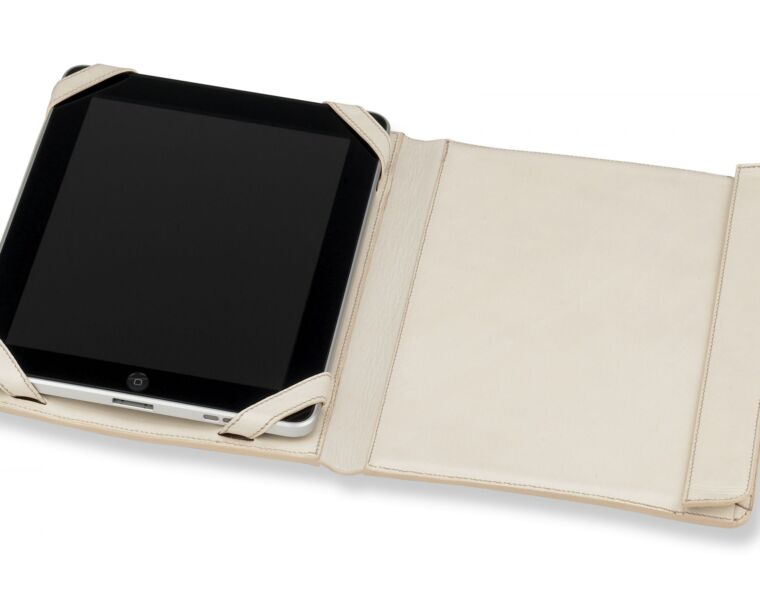 Alfred Dunhill Spring Summer 2011 Tradition Leather iPad Case 1