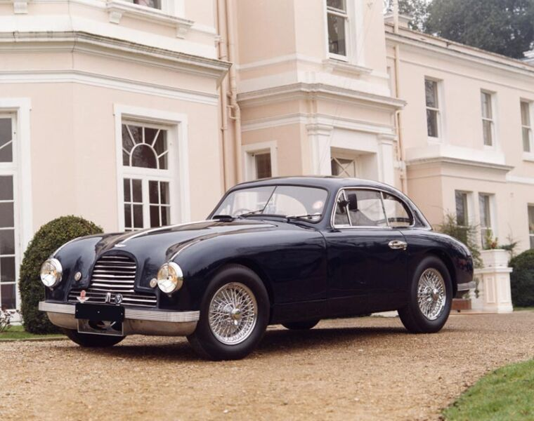 Luxurious Classics - The Legendary Aston Martin DB2 Coupe car 5