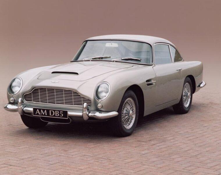 Luxurious Classics - The Aston Martin DB5 3