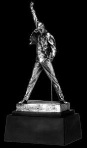 "Freddie Mercury 18"" Pewter limited edition statue 4"