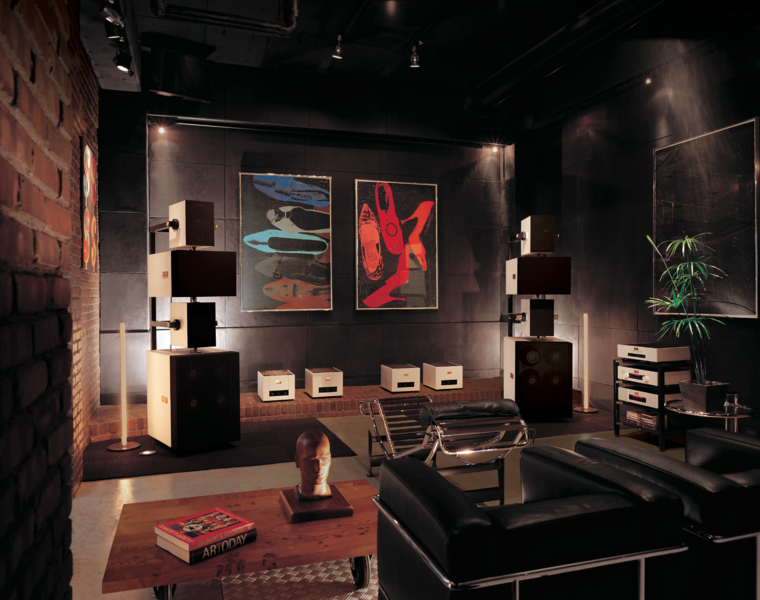 Goldmund Epilogue full speaker system