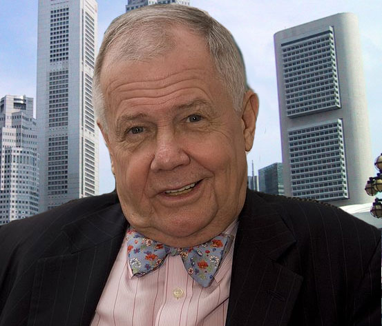 Jim Rogers on moving to Singapore
