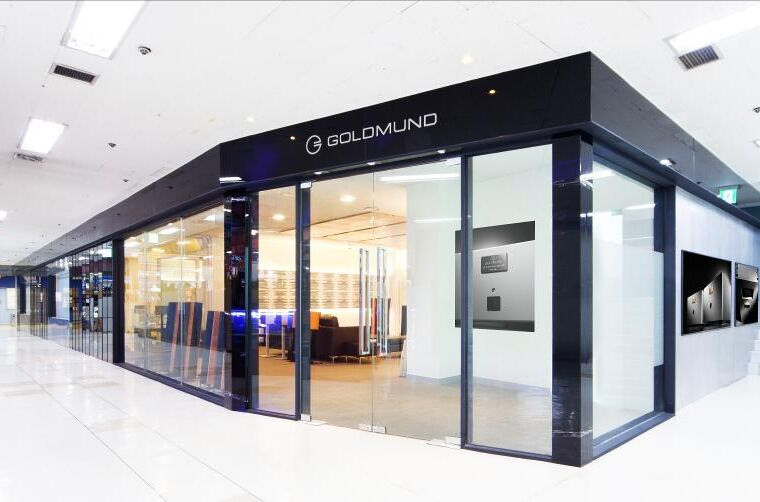 Goldmund showroom opens in Yong-San Electronics Land, Seoul 14
