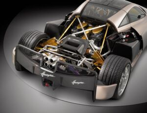 Ancient Legends say when the Pagani Huayra sleeps, the waters and rivers lay quiet. 4
