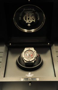 The Hublot Big Bang Flamengo Watch - a special football legends Flamengo