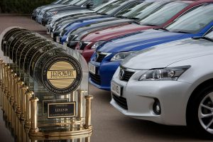 Lexus leads J D Power Survey for 11 consecutive years