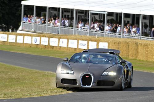 A record number of Supercars at Goodwood Festival of Speed 2011