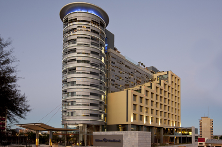 Hilton Windhoek Hotel Opens As Hilton Worldwide's 50th Hotel in the Middle East and Africa.