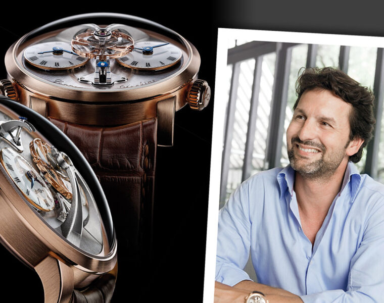 MB&Fs Founder Maximilian Busser In Conversation with Luxurious Magazine