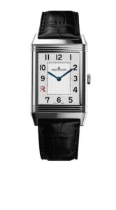 The Jaeger LeCoultre Grande Reverso Ultra Thin Italico in steel