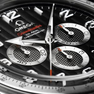 The OMEGA Speedmaster Broad Arrow Co Axial watch movement