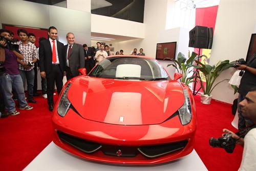 Indian supercar fans can now celebrate Ferrari in India