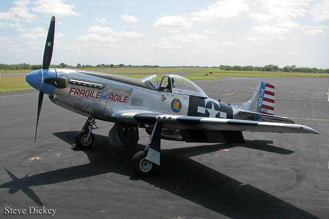 "The Bremont P-51 Watch and an appearance of the legendary fighter plane ""Fragile but Agile"" will take place at 2011 Flying Legends Air Show in July."