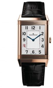 The Jaeger leCoultre Grande Reverso Ultra Thin Italico in pink gold, limited edition of 50 pieces