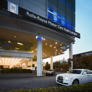 Rolls-Royce Motor Cars is pleased to announce the official opening of its latest showroom in Petaling Jaya, Kuala Lumpur