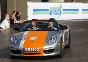 Porsche Boxter E Prototype at the Michelin Challenge Bibendum in Berlin