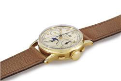 Patek Philippe Reference 2499 in 18k gold coming up at Christies Auction 2