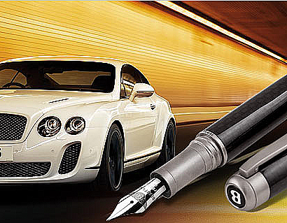 Bentley Supersports Pen from the Tibaldi Bentley Collection 9