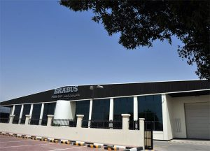 Brabus Dubai opens with sales centre, upholstery shop, warehouse and modern workshop.