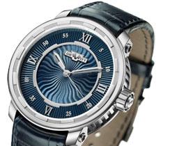 DeWitt Twenty-8-Eight Automatic watch comes in white gold & blue