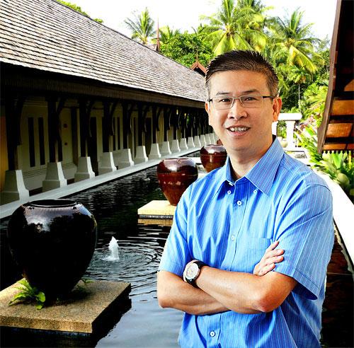 Eric Tea resort manager at Tanjong Jara talks to Luxurious 8