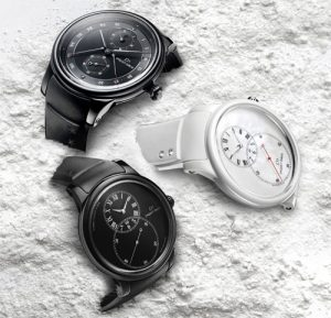 Jaquet Droz Grande seconde ceramic watch collection