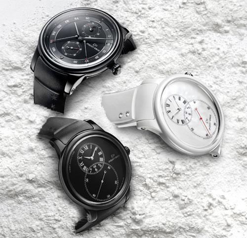 Jaquet Droz Grande seconde ceramic watch collection