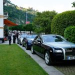 J Craft and Rolls-Royce at Concorso d'Eleganza, Villa d'Este