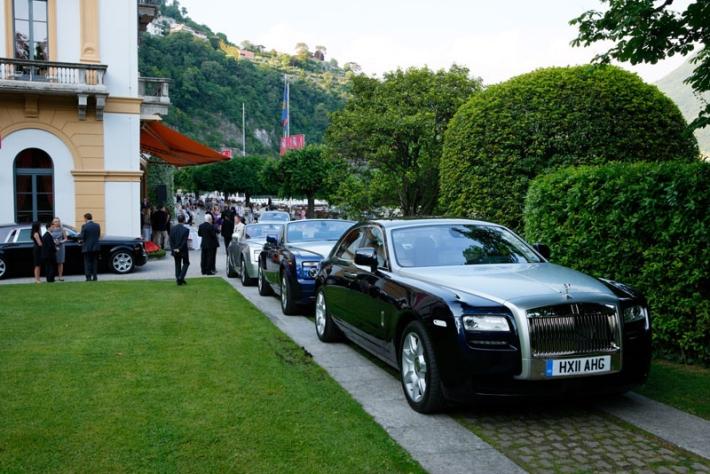 J Craft and Rolls-Royce at Concorso d'Eleganza, Villa d'Este