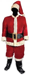 Edmund Gwenn's santa claus outfit from miracle on 34th street