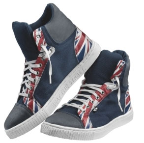 Union Jack sneakers by Mini will be available from September 2011 online.