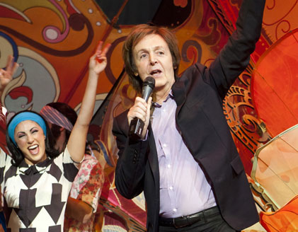 The Beatles Love by Cirque Du Soleil celebrates Fifth Anniversay 4