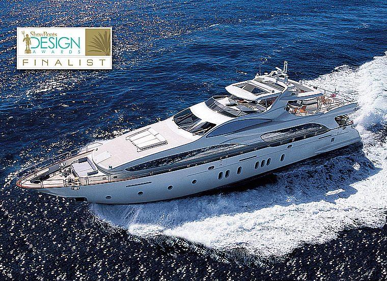 Azimut Grande 116 Cinque Yacht at Showboats Design Awards 2011 4