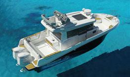 Beneteau Barracuda Powerboat with Air Step hull 5
