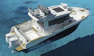 Beneteau Barracuda Powerboat with Air Step hull