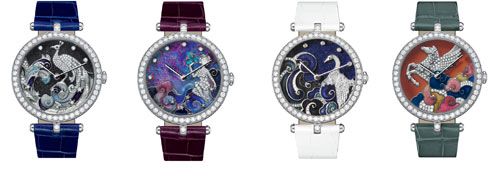 Van Cleef & Arpels The Four Extraordinary Dials: from Constellation to Constellation