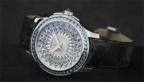 The La Sirene watch from Ateliers De Monaco - Royal feminine luxury…