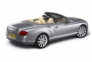 The new Bentley Continental GTC - Bold, contemporary with sculpted design 4
