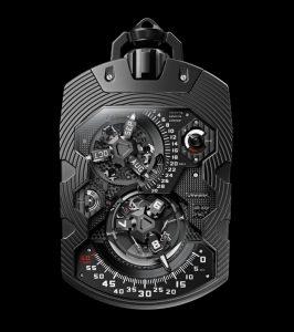 URWERK presents the UR-1001 Zeit Device Über Complication