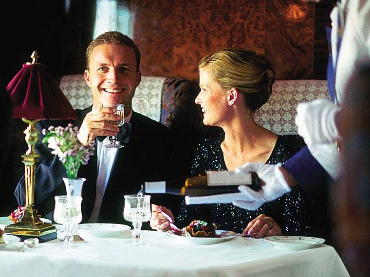Put your 'Glad Rags' on and have a memorable experience with Orient-Express 4