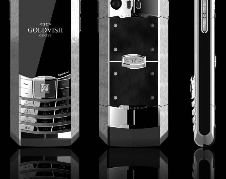 Goldvish Equilibrium luxury dual sim mobile phone 6