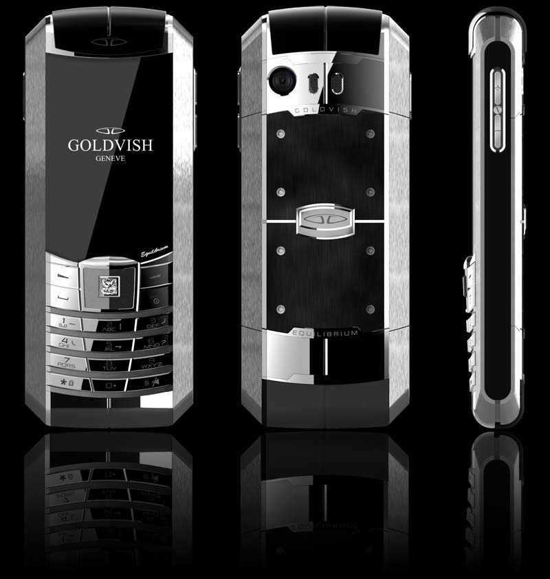 Luxury House With Phone With: Goldvish Equilibrium Luxury Dual Sim Mobile Phone