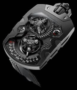 The UR-1001 is a true Zeit Device: It is a grand über complication both measuring and quantifying the era in its entirety,
