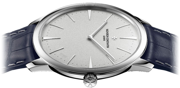 The Collection Excellence Platine, launched in 2006, welcomes a new model stemming from the elegant Patrimony Contemporaine line.