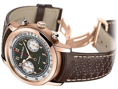 "Audemars Piguet, ""Jules Audemars"", Gstaad Classic, Chronograph Automatic, Ref 26563. Unique, self-winding, waterresistant, 18K pink gold wristwatch."